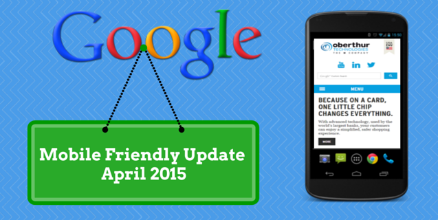 Google Mobile Friendly Update 21st April 2015